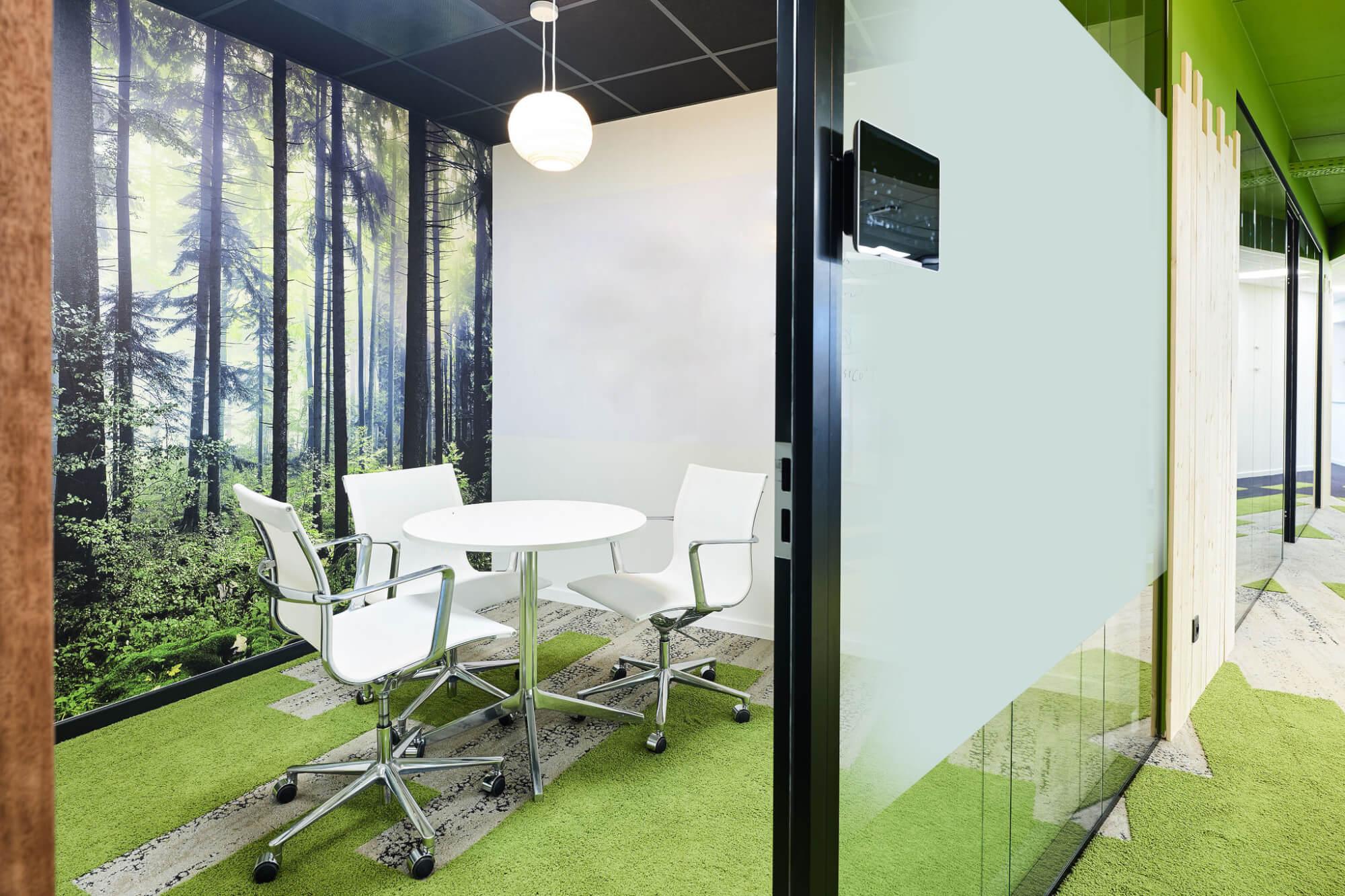 inrichting kantoren en bureau in België