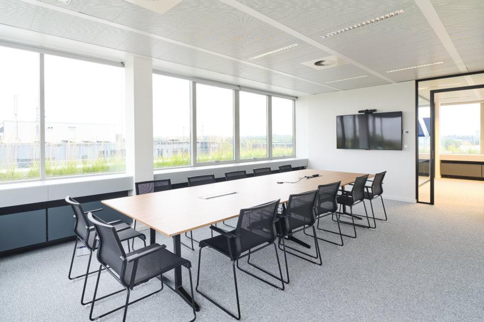 salle de réunion d'Howden Belgium