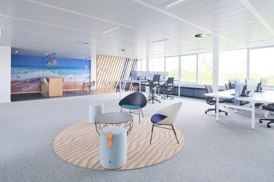 nouveaux bureaux d'Howden Belgium